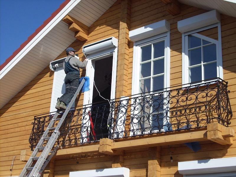 Монтаж рольставень в Рыбинске